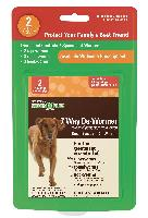 Sentry Worm X Plus 7 Way De-Wormer Large Dog 2 ct.